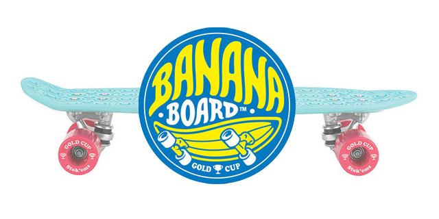 ミニクルーザー バナナボード (BananaBoard)
